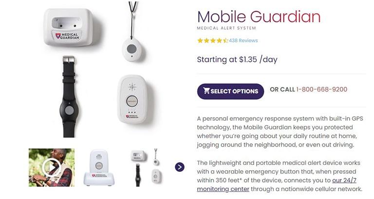 Medical Guardian Mobile Guardian