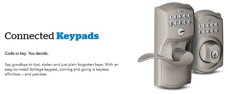 Schlage Keypads