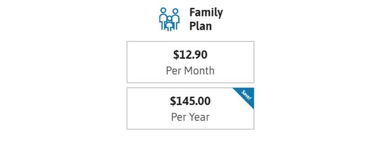 Zander Identity Family Plan